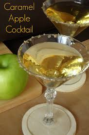 green apple martini caramel apple cocktail recipe say