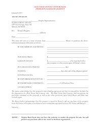Real Estate Sample Letter I Need To See A Free Letter Of Intent To Purchase A Boat Html In