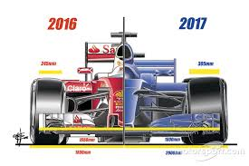 f1 cars analysis how different will f1 cars be in 2017