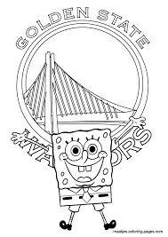 lakers coloring pages golden state warriors nba coloring pages