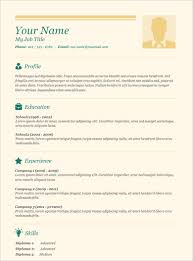 A Simple Resume Sample by Basic Resume Template U2013 51 Free Samples Examples Format