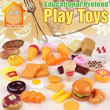 simulation de cuisine minitudou enfants en plastique alimentaire jouet jeux de simulation