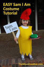 Lorax Halloween Costume Omg Easy Sam Costume Tutorial Video Love Kids