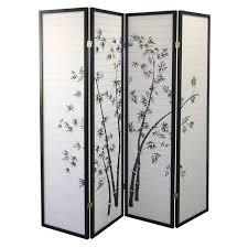 room devider world menagerie kingman 70 x 68 bamboo shoji 4 panel room