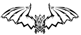 Scary Halloween Coloring Pages Coloring Pictures Of Bats U2013 Fun For Halloween