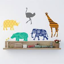 Animal Wall Decor For Nursery 140 Best Animal Wall Decals Images On Pinterest Animal Wall