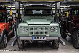 jaguar land rover defender jaguar land rover classic works simply incredible carwitter