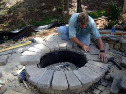 How To Build An Igloo In Your Backyard - how to build a round stone fire pit how tos diy