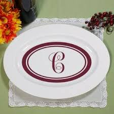 personalized serving plates personalized ceramic plates platters giftsforyounow