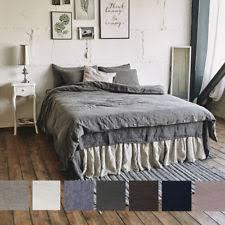 100 Linen Duvet Cover Patternless 100 Linen Duvet Covers U0026 Bedding Sets Ebay
