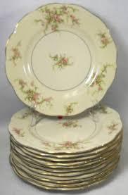 haviland patterns haviland china rosalinde pattern set of twelve 12 dinner plates