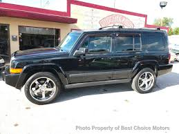 commander jeep 2013 2007 used jeep commander 4wd 4dr sport at best choice motors