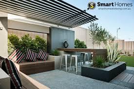 modern patio alfresco design with feature pergola patio alfresco