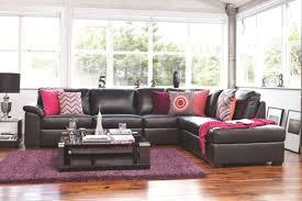 Purple Corner Sofas Rumpus Leather Corner Lounge Suite Super A Mart Living Room