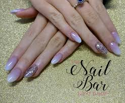 baby boomer and rose gold acrylic nails my work pinterest