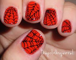 custom halloween nail art the polish squirrel