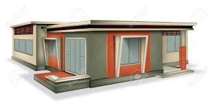 equable house modern style royalty free cliparts vectors and