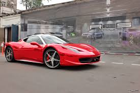chrome ferrari 458 to stand out red chrome ferrari 458 italia