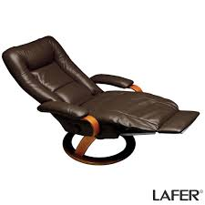 reclining chair by lafer features a patented retractable