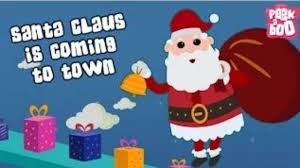 santa claus is coming to town christmas songs for children with