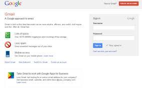 Login Gmail Gmail Has A New Login Page