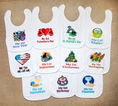 9 baby bib set new baby by littlecutiepiedesign