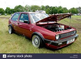 golf volkswagen gti mk2 mark2 vw golf volkswagen gti boy racer stock photo royalty