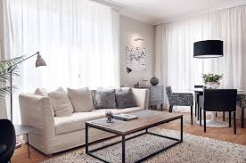 Ravishing Modern White Living Apartment Design Ideas With - New apartment design ideas