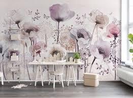 lavender painted walls 3d printing wallpaper hand painted wallpaper for walls 3 d