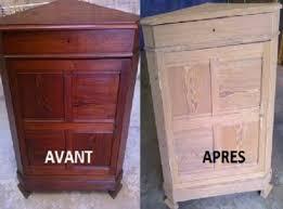 comment d oucher un ier de cuisine naturellement comment décaper naturellement vos vieux meubles en bois