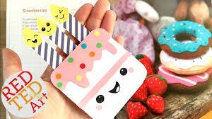 easy birthday cake bookmark diy paper bookmark designs u0026 crafts