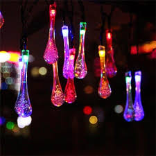 where to buy cheap fairy lights colorful raindrop 20 led string fairy lights party decoration
