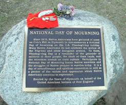 thanksgiving the national day of mourning