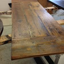 Making A Wood Plank Table Top reclaimed wood desk top legs not included for this listing