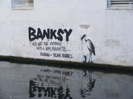 Banksy S Top 10 Most Creative And Controversial Nyc Works - the banksy vs robbo war in pictures twistedsifter