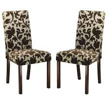 Safavieh Dining Chairs Safavieh Parsons Floral Print Dining Chair Set Of 2 Hud8207a
