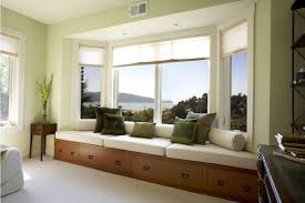 Bay Window Seat Kitchen Table by Bay Window Seats Bedroom Contemporary With Floor Lamps Top Side