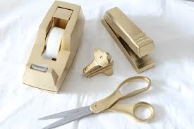 My Gold Desk Nate Berkus Knock Off Lion Place Card Holders Simple Stylings