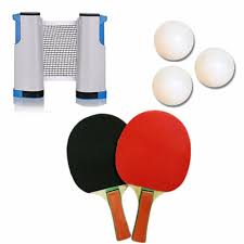 retractable table tennis set without carry bag lazada ph