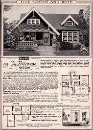sears homes floor plans craftsman cottage 1923 kilbourne kit home sears honor bilt