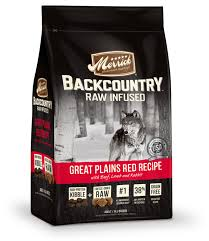 merrick backcountry raw infused great plains dry red recipe