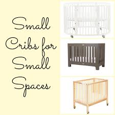 Riley Mini Crib by 8 Small Cribs For Tiny Living Spaces