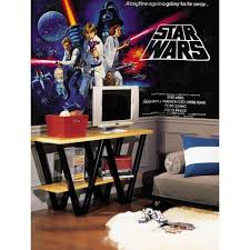 star wars classic chair rail prepasted mural 6 ft x 10 5 ft star wars classic chair rail prepasted mural 6 ft x 10 5 ft ultra strippable wall applique