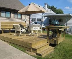 backyard backyard deck and patio designs the wooden backyard