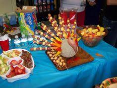 getting ready for the kindergarten thanksgiving feast november