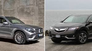 lexus nx vs acura rdx dimensions faceoff mercedes benz glc vs acura rdx the globe and mail