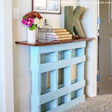 Hallway Table Pallet Hallway Table Ideas Pallet Furniture Projects