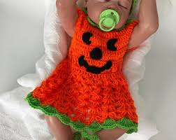 Baby Halloween Costumes Pumpkin Baby Pumpkin Costume Etsy
