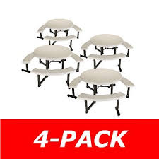 lifetime round tables for sale lifetime 42127 round picnic table 4 pack on sale with free shipping