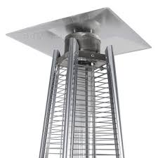 Pyramid Flame Patio Heater Flame Pyramid Patio Heater Outdoor 13kw